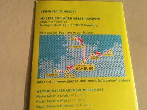 Mastermesse für Geographen
